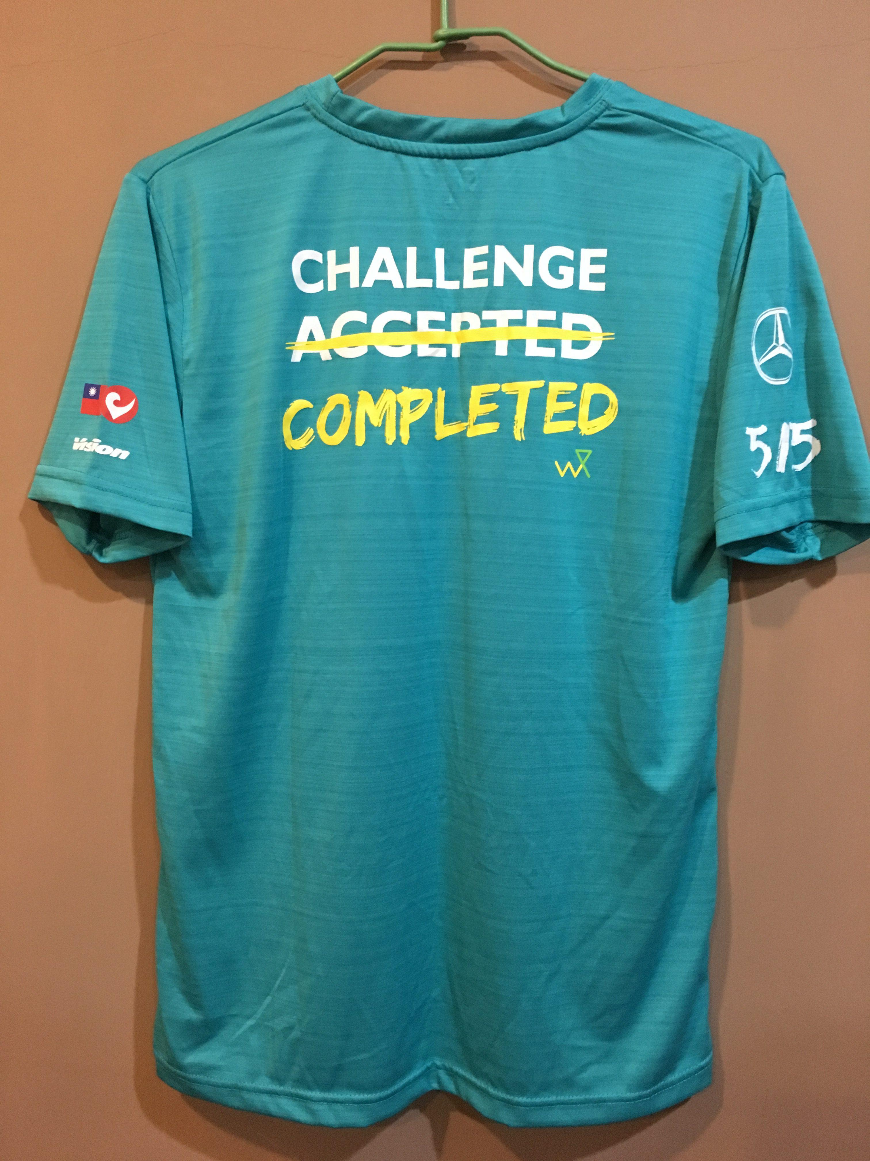 Challenge-Taiwan 2019完賽衣背面