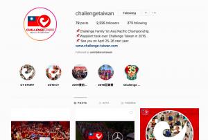 Challenge-Taiwan Instagram