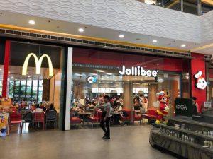 Jollibee and Mccdonalds